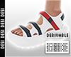 Sandals w/ Straps | Dev
