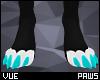 V e Blue Paws 1 M