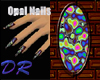 [DR]Australian Opal Nail