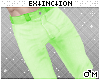 #jeans: lime