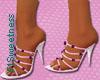 FLS Beaded Sandals - Pin