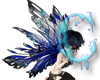 *c* Air Glass Fairy Wing