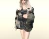 【saki】boa coat1