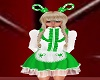 Green Candy Cane Dress