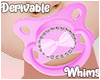 Baby Girl Pink Pacifier