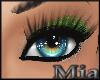 [mm]Glitter makeup green