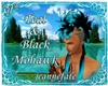 *jf* Teal & Black Mohawk