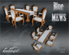B*Blue Mews Dining Table