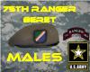 -K- Tan 75th Beret