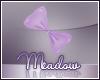 Faldohr Purple Hair Bow