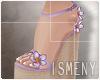 [Is] Wedges Sandal Purpl