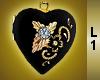 Gold Locket w/Necklace 1