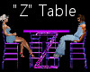 """""""Z"""" Club Table for 4"""