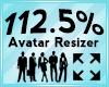 Avatar Scaler 112.5%
