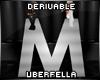 Derivable Letter M