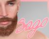 (S) Brown Daddy Beard