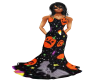 Halloween Gown Strapless