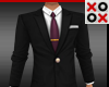 Small Suit & Tie Black