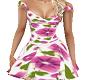 Purple Pansy Dress