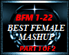 BEST FEMALE MASHUP PRT 1