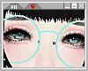 ☪ Blue Round Specs.