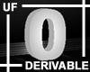 UF Derivable Digit 0