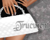 Quilted  Bag White