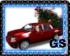CAR WHIT CHRISTMAS TREE