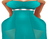 Teal Cummina Gown BMXXL