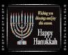 D* Hanukkah Sign
