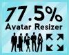 Avatar Scaler 77.5%