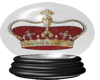 Red Crown In Globe
