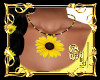 *Sunflowers Necklace
