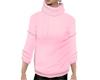 JD Pink Cowl Sweatshirt
