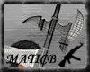 [M]Dev Halberd W/Banner