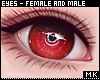 金. Red Eyes