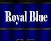 Royal Blue Mesh Sign