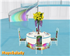 Rainbow Wedding Table