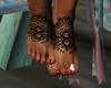 Boho chic feet