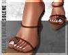 s. Fur Baby Heels Choco