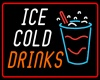 Neon Ice Cold Drinks