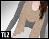 [TLZ]Cream Looped Scarf