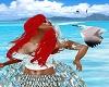 Ariel Mermaid Top Green