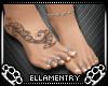 V.2 Tat+Toe Rings+Anklet