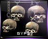 Hanging Skulls