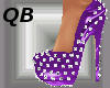 Q~Purple Spiked Platform