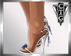 CTG SILVER BLUE STILETTO