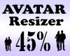 Avatar Scaler 45% / M