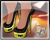 *S Bat Girl Heels