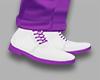 Purple classic shoes